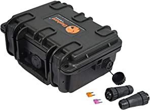 Elephant B095 Kayak Battery Box Waterproof Battery Enclosure for Powering GPS, Fish Finders, Led Lights, Aerator Pump
