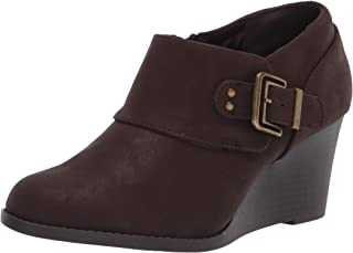 Easy Street Women's Ankle Boot, Brown, 6.5WW US