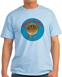 CafePress Charlie Waffles 100% Cotton T-Shirt, White
