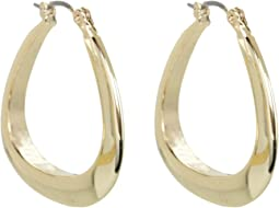 GUESS - Logo Triangular Hoops
