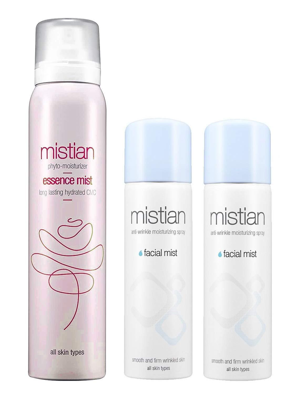 Mistian Deep Moisturizing Korean Max 47% OFF Louisville-Jefferson County Mall Essence Spray Mist Facial o Set
