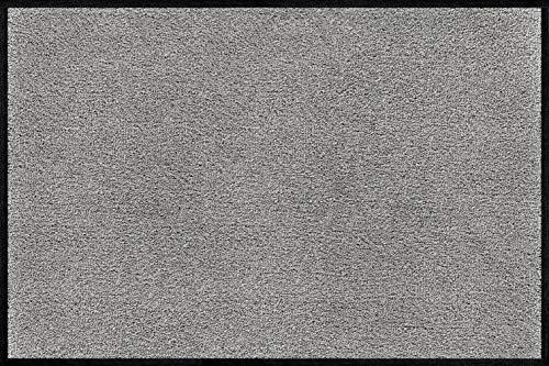wash+dry Fußmatte Cool Grey, 40x60 cm, innen und außen, waschbar, hellgrau
