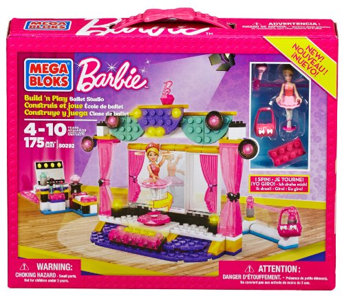 Barbie - Estudio de Ballet Mega Brands 80292