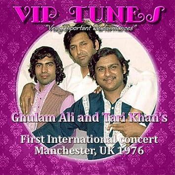 Ghulam Ali & Tari Khan's First International Concert