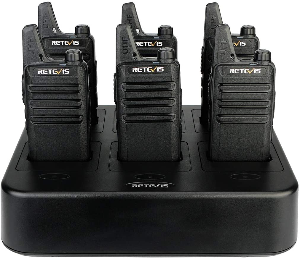 Retevis RT22 Walkie Max 56% OFF Talkies Rechargeable Max 88% OFF Way Free Radios 2 Hands