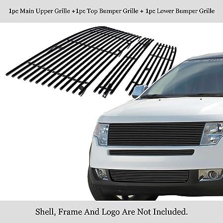 Fits 07-10 Lincoln MKX Lower Bumper Billet Grille Insert