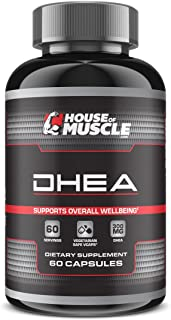 DHEA 300mg (60 Capsules), High Potency DHEA, Restore DHEA Levels & Promote Hormonal Balance, Support Overall Health & Well...