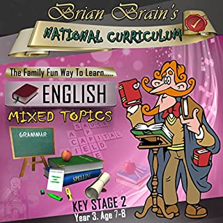 Brian Brain's National Curriculum KS2 Y3 English Mixed Topics cover art
