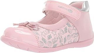 حذاء باليه مسطح للأطفال Elthan Girl 3 من Velcro Ballet Mary Jane من Geox