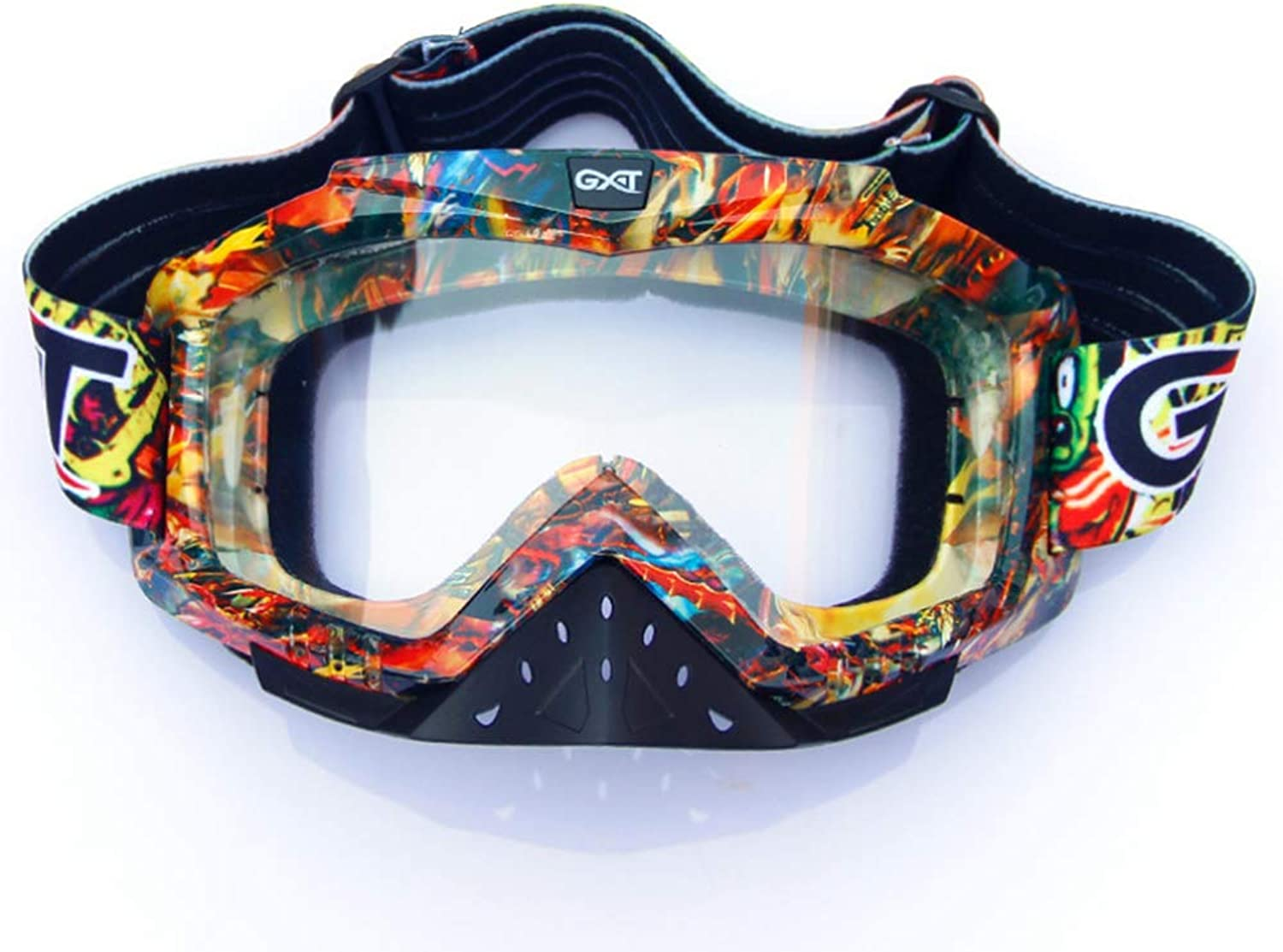 Ski Goggles Skiing Goggles Off-Road Helmet Goggles Motorcycle Riding Outdoor Sports Goggle Ski Windproof Glasses Downhill Goggles