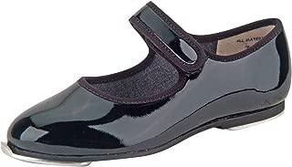 Danshuz Girl's Velcro Tap Slip-On Strap Casual Flats