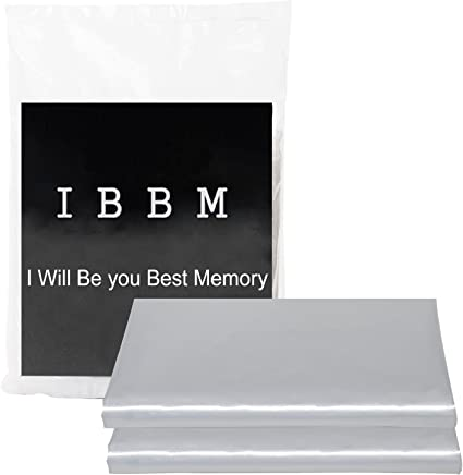 IBBM I WILL BE YOUR BEST MEMORY 2 Pack Mattress Bag for Moving and Storage -