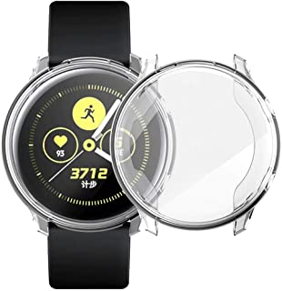 Flexible plastic cover with transparent screen protector 360 degree protection, for Samsung Galaxy Watch Active2 (44mm)