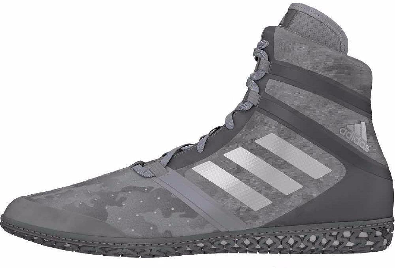 Adidas Impact Men's Wrestling shoes, Grey Camo Print, Size 15