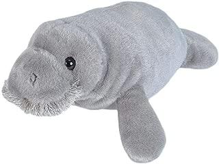 Wild Republic Manatee Plush, Stuffed Animal, Plush Toy, Gifts for Kids, Cuddlekins 10 Inches