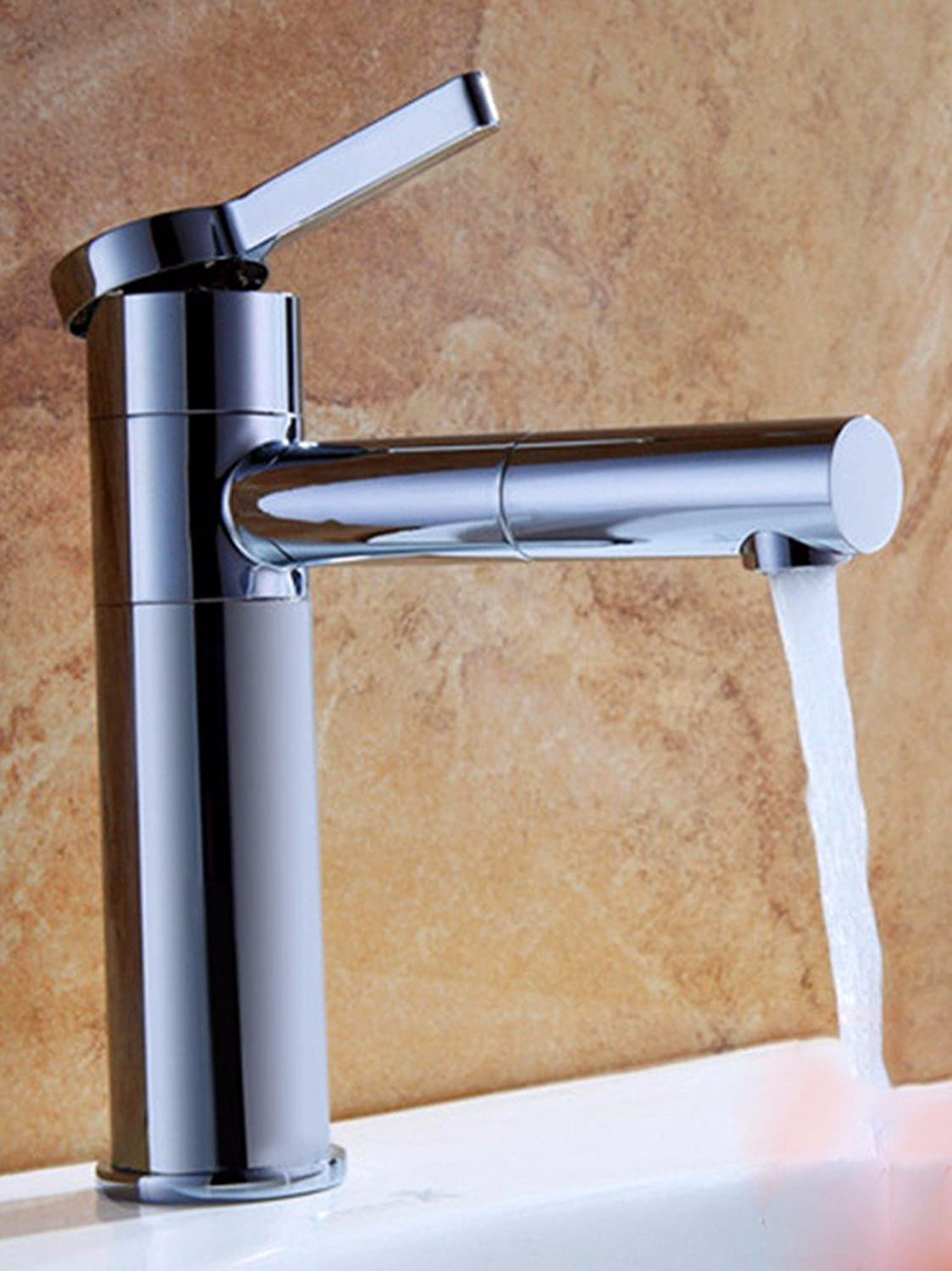 Hlluya Professional Sink Mixer Tap Kitchen Faucet Hot and cold, full of copper, basins, sinks, faucets