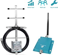 3G Cell Phone Signal Booster for Home and Office Use – Reduce Dropped Calls for Most Carriers
