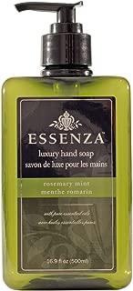Essenza Hand Soap, Rosemary Mint, Dark Green, 16.9 Ounce