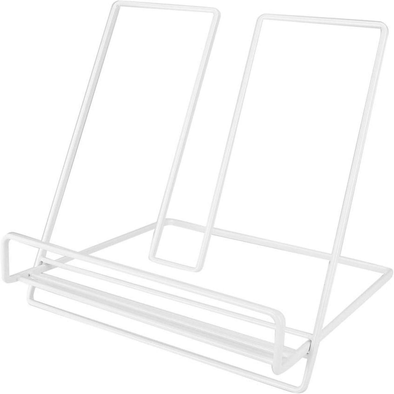 Smooth Edge Book Stand Durable 19 x 19 x 18.5 cm / 7.5 x 7.5 x 7