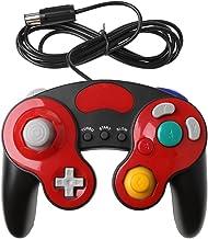 Controle de videogame portátil com fio para console Nintendo Wii NGC