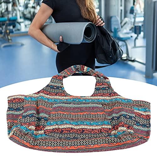 Eulbevoli Bolsa de Yoga, practicidad Fuerte para Usar una Bolsa de Yoga Grande al Hombro para Familiares o Amigos