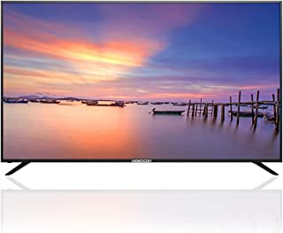 Videocon 75 Inch 4K UHD Smart TV with Airmouse & DVBT2, Metal Frame