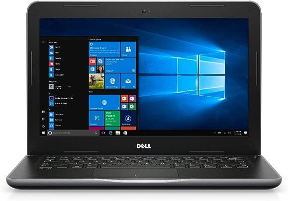 Dell Latitude 3380 13 3-Zoll-Laptop  Schwarz Grau   Intel Core i5-7200U 2 5 GHz  GB RAM  128 GB SSD  Windows-10 Pro