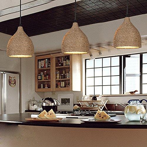 Wanson Moderne Minimaliste Pendentif éclairage Chambre Salon Lustre Simple Tête Luminaires Diamètre 18Cm E27 Lumière