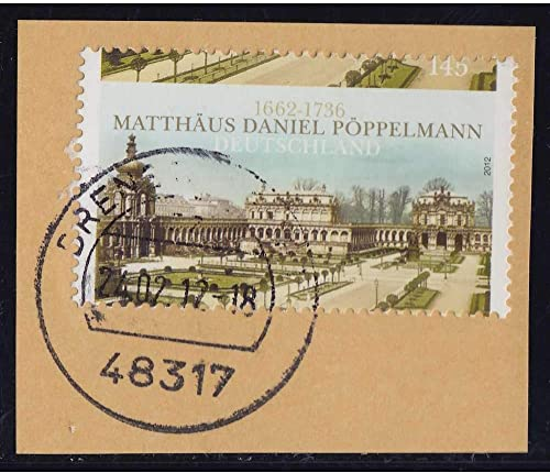 Goldhahn BRD Bund Nr. 2905 gestempelt Verz ung Briefürken für Sammler