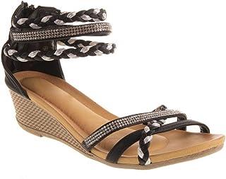 77dd7c0fb Amazon.fr : sandales nu-pied : Chaussures et Sacs