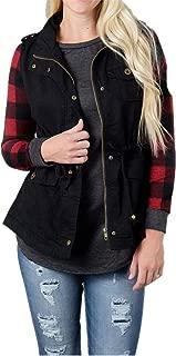Best black vest jacket womens Reviews