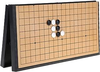 VGEBY1 Go Game Set Giochi magnetici Pieghevoli Pieghevoli per Bambini Weiqi Board Set