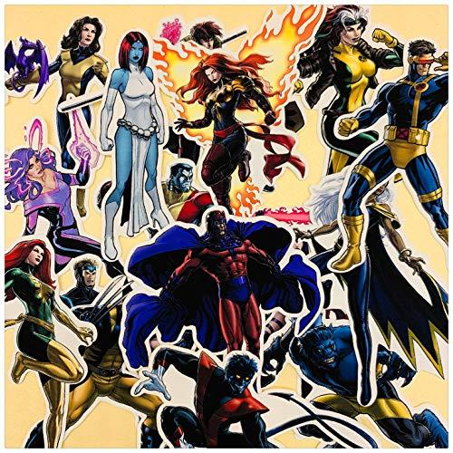 ZWANG Pacchetto Adesivi Conto a Mano Marvel X-Men 17 Diario di Decorazione Adesivi Conto Iniziale