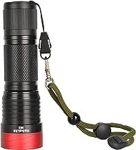 M3 3000 Lumens Flashlight 5 Modes 26650/26350/18650 Battery Work Lamp (Color : Black)
