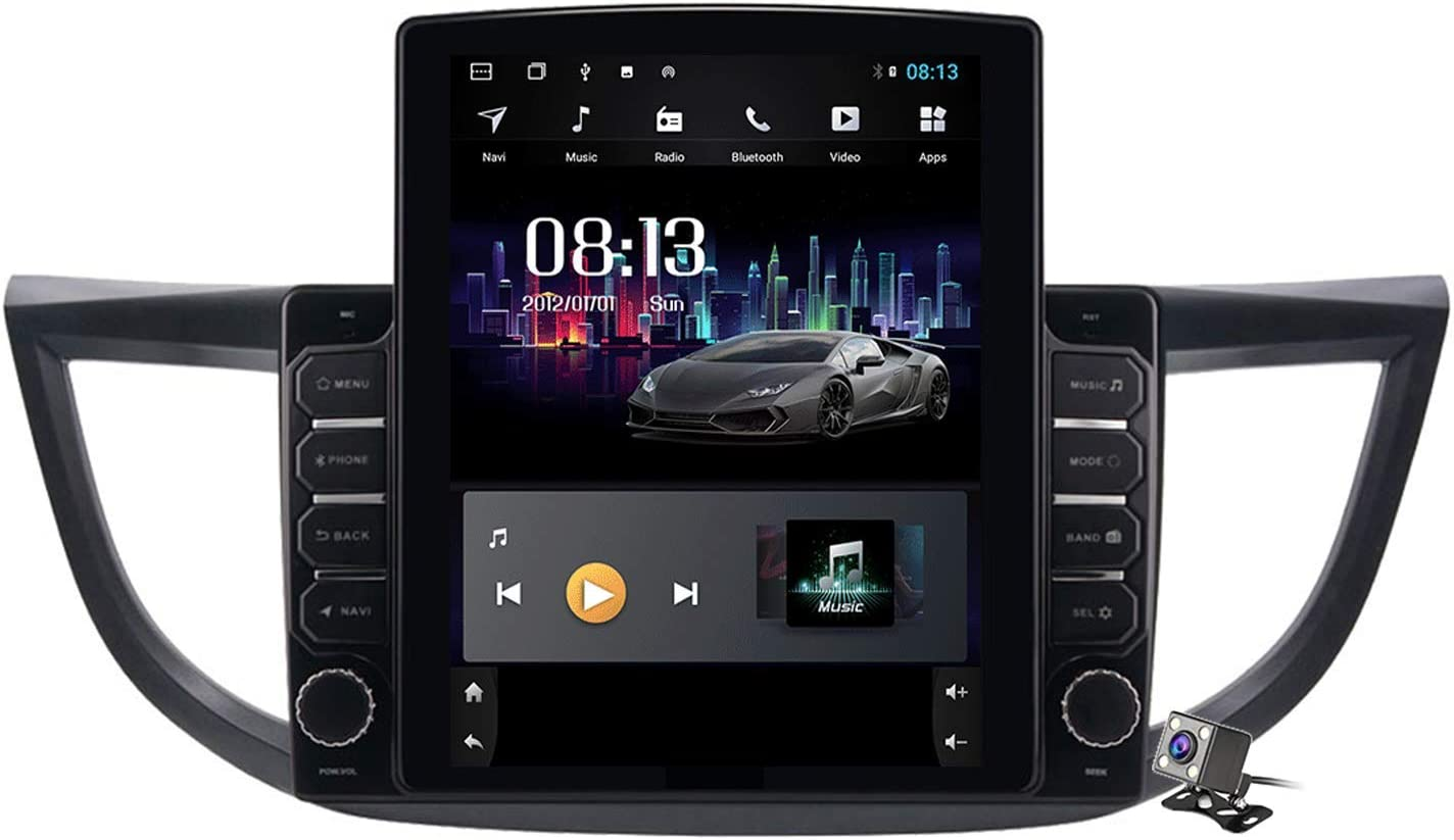 Android 9.0 Car Stereo High material Radio for 2012-2016 N CRV CR-V Super beauty product restock quality top GPS Honda
