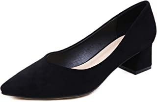 Stunner Women Stylish and Comfortable Mid-Heel Pointed Pumps Shoes