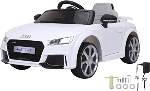 gran venta Jamara- Ride on Audi TT RS RS RS 12 V, Color blanco (460278)  sin mínimo