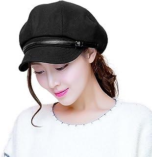 Siggi Warm Cotton Newspaper Boy Hat Beret Hat Cabbie Hat Women's Hat Visor Beret Hat Baseball Cap