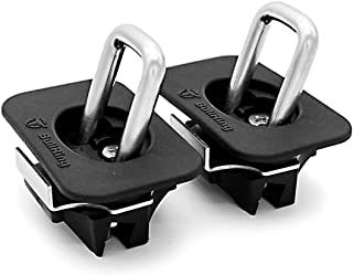 Your Choice to Fit Your Truck 5 Year 100/% Replacement Guarantee 1 x 15 4 Pack Includes 1 Pair Bull Ring Retractable Anchors Premium Ratchet Strap by Bull Ring
