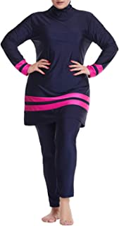 keepmore Modesto Musulmano Costumi da Bagno Donne - Islamico Taglia Grossa Costume da Bagno con Nuoto Hijab Piena Copertur...