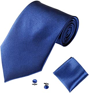a01fd30d98c39 Cravate Homme, Moonuy Hommes à la mode cravate couleur unie tie Désherbage  de mariage et