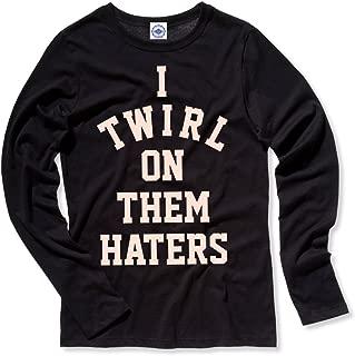 Hank Player U.S.A. I Twirl On Them Haters Women's Long Sleeve T-Shirt