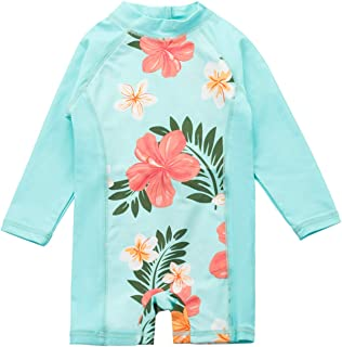 Vivafun Baby Girl One-Piece Swimsuit UV Protective UPF 50+ Swimwear