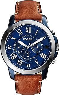 Men's Grant Stainless Steel Quartz Chronograph Watch