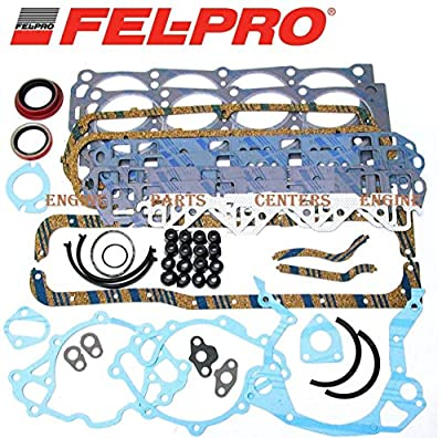 FEL-PRO FULL Gasket Set compatible with 260-1125 Small Block Ford 289 302 SBF (SBF)