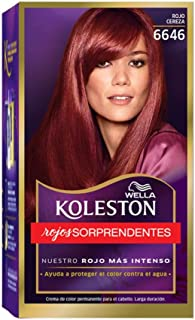 Wella Koleston Coloracion Permanente en Crema, 6646 Rojo Cereza