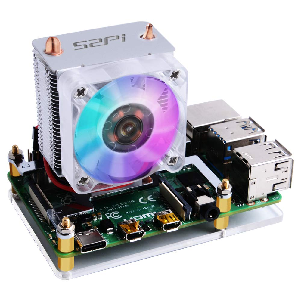 GeeekPi Ice Tower CPU Cooling Fan Ice Tower Fan para Raspberry Pi ...