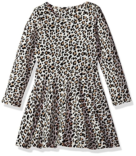 The Children's Place Girls' Little Long Sleeve Casual Dresses, Tumbleweed 91365, 3T