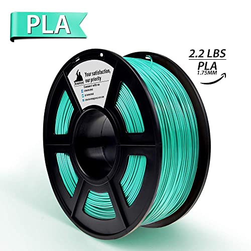 PLA Filament,3D Hero 3D Printer Filament Grass Green PLA, Dimensional Accuracy +/- 0.02 mm,1.75 mm 1 kg Spool(2.2lbs)