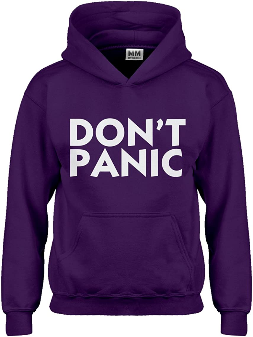 Indica Plateau Don't Panic Hoodie for Kids
